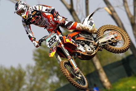 Musquin fez mais um 1-1 no Mundial de Motocross 2010
