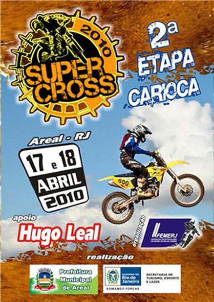 Carioca de Arena Supercross desembarca em Areal