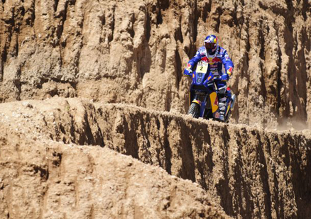 Casteu venceu o primeiro dia do Rally Dakar