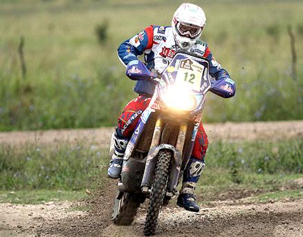 Outro francês venceu o segundo dia do Dakar 2010