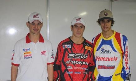 Jean, Swian e Trasolini na coletiva de imprensa deste sábado