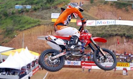 Endrews conquistou a vitória na MXJR em Cachoeiro