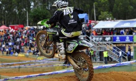 Frossard está em quinto na classificação do Mundial MX2
