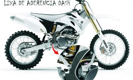 A Dash produz lixas de aderência para motos de Cross