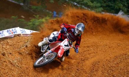 Swian foi o mais rápido na MX1 a principal categoria do Motocross