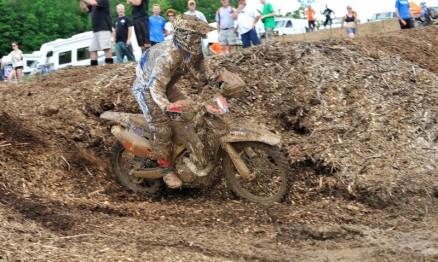 Whibley finalizou em terceiro lugar na categoria XC1