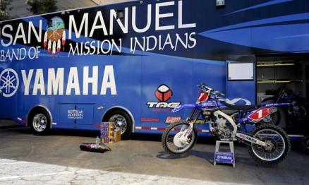 Stewart e a San Manuel/Yamaha voltarão a ação no AMA SX 2011