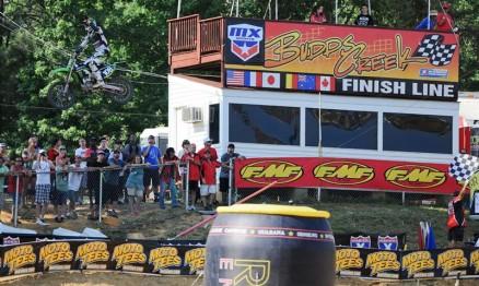Dean Wilson venceu sua primeira corrida no AMA Motocross