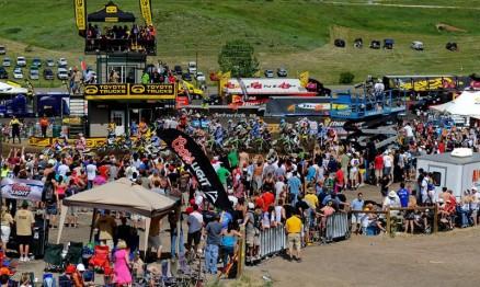 O AMA Motocross tem sempre um grande público nas suas etapas