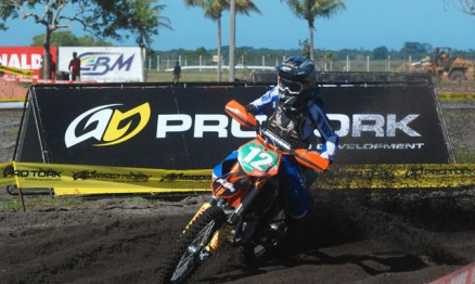 Thales foi o mais rápido do dia na categoria MX1