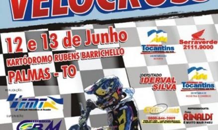 Cartaz de divulgação do Brasileiro de Velocross