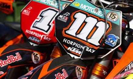 Estes são os canhões da KTM no Mundial de Motocross 2010
