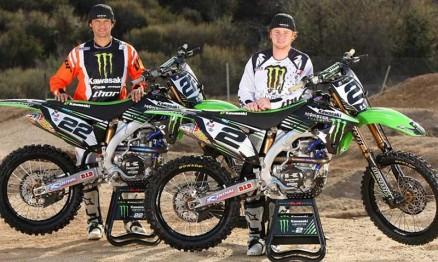 Em 2010 Reed e Villopoto são companheiros. Para 2011 não se sabe !!