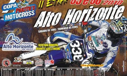 Cartaz de promoção da Copa Pakitos de Motocross