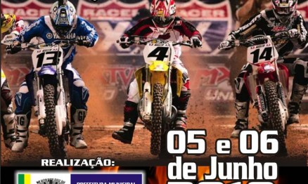 Cartaz de promoção do Carioca de Motocross