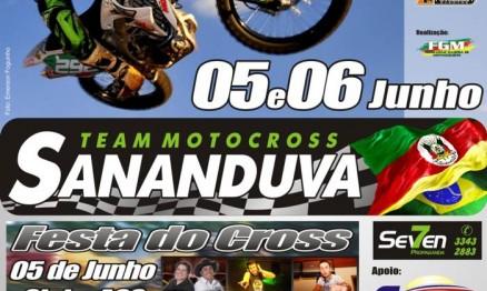Cartaz de promoção do Gaúcho de Motocross
