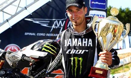O ex-campeão Philippaerts voltou vencer no Mundial MX1