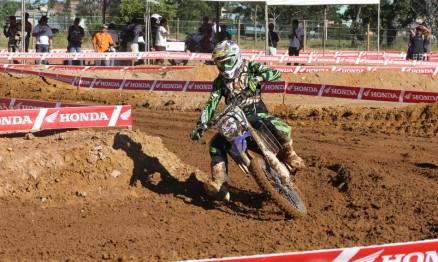 A Yamaha do peruano Julian Araujo foi uma das motos roubadas