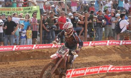 Leandro Silva venceu as baterias da etapa de Guará
