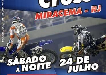 Cartaz de divulgação do Carioca de Supercross em Miracema