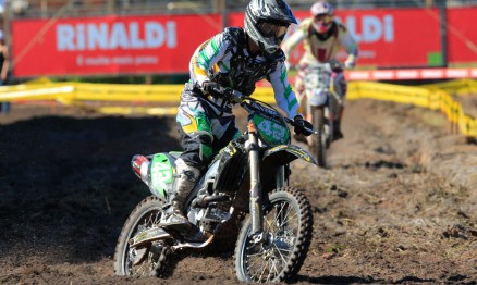 Nico Rocha defende as cores da Pro Tork na MX3