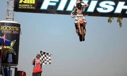 Canard foi o vencedor do AMA Motocross 250 em Red Bud