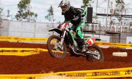 Cantero venceu no Paraguaio de Motocross