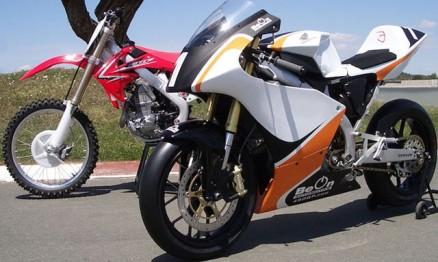 CRF450 transformada em moto para Motovelocidade