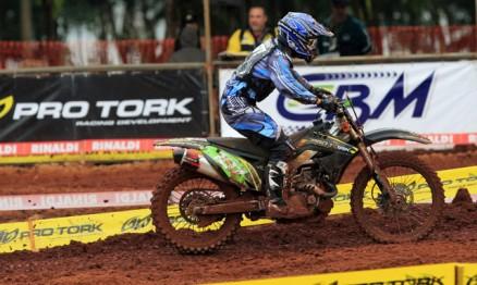 Davis venceu sua primeira no Brasileiro de Motocross