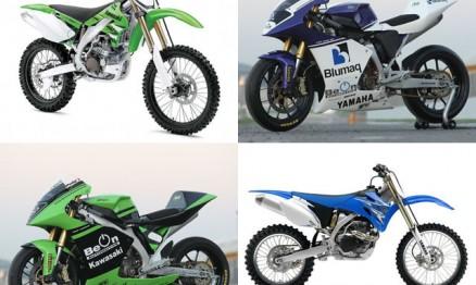 Cinco grandes marcas tem kits para suas motos