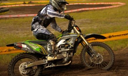 Nico Rocha está invicto na MX3 do Paraguaio de Motocross