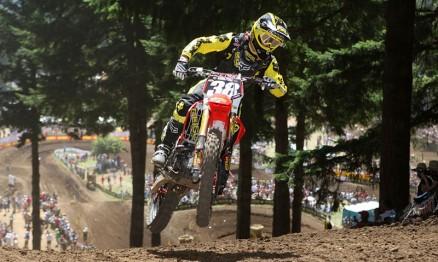 Canard venceu sua terceira etapa no AMA MX 250 em 2010