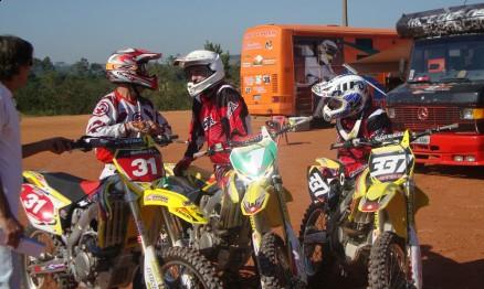 Rodney Smith com Marcos Cordeiro e Henrique Guaresi