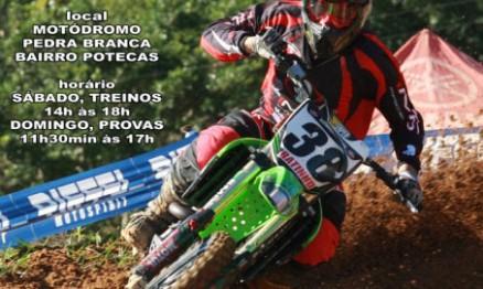 Cartaz de divulgação do Catarinense de Motocross