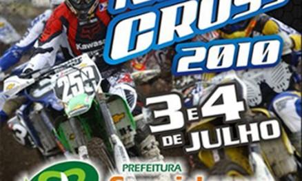 Cartaz de divulgação do Campeonato Carioca de Motocross