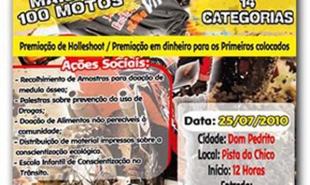 Cartaz de divulgação da Copa CEEE/Paulinho Motos de Veloterra