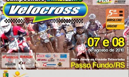 Cartaz de divulgação dos Campeonatos Brasileiro e Gaúcho de VX