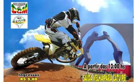 Cartaz de divulgação da Copa Cidades de Motocross