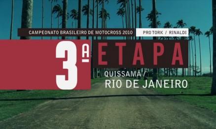 Programa do Brasileiro de Motocross em Quissamã