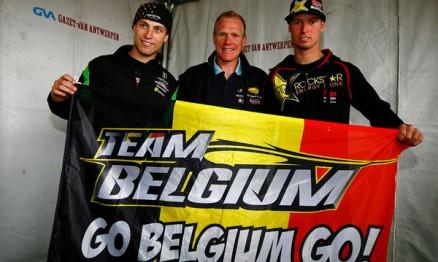 Time belga tem Jeremy, Joel e Steve para o Nações 2010