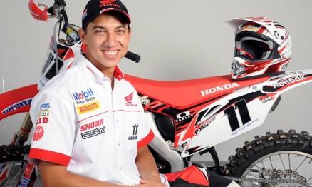 João Marronzinho é piloto oficial do Team Honda