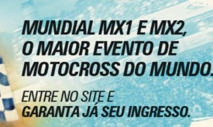 Concorra a ingressos para o Mundial de Motocross