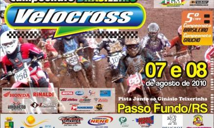 Cartaz de divulgação do Gaúcho e Brasileiro de VX em Passo Fundo