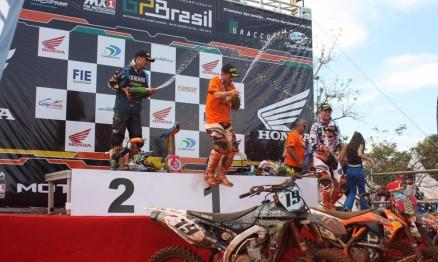 Cairoli comemorou no Brasil seu título de campeão 2010