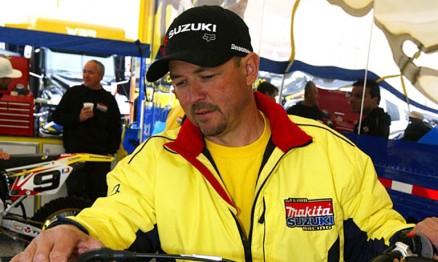 Gosselaar foi mecânico de Carmichael e Reed e agora é de Dungey