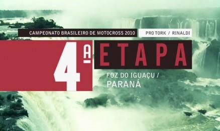 Programa do Brasileiro de Motocross em Foz do Iguaçu