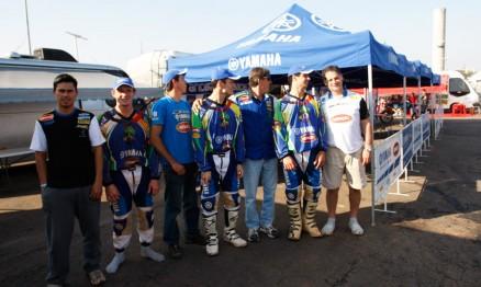 Membros da equipe oficial Geração/Yamaha