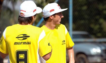 Rui Gonçalves e Tony Cairoli prestigiaram o evento