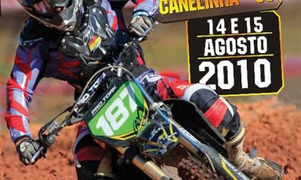 Cartaz de Divulgação do Brasileiro de MX em Canelinha