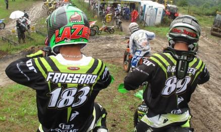 Frossard e Horebeek são companheiros de equipe